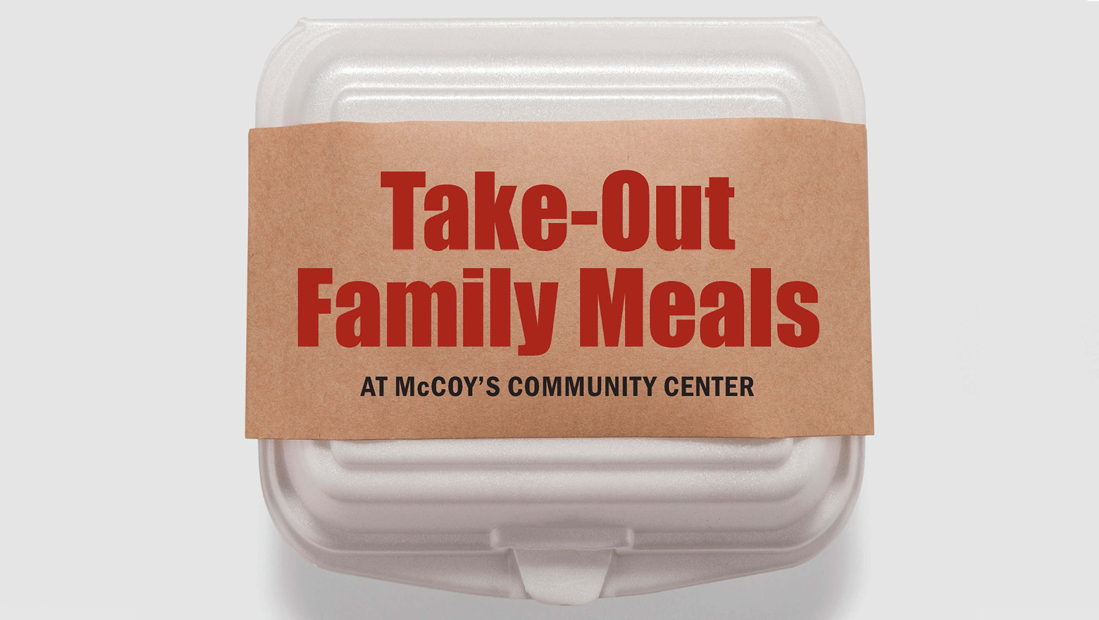 Take-Out Family Meals: Monday Special