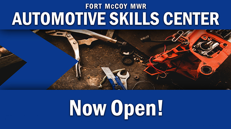 Automotive Skills Center is Now Open!