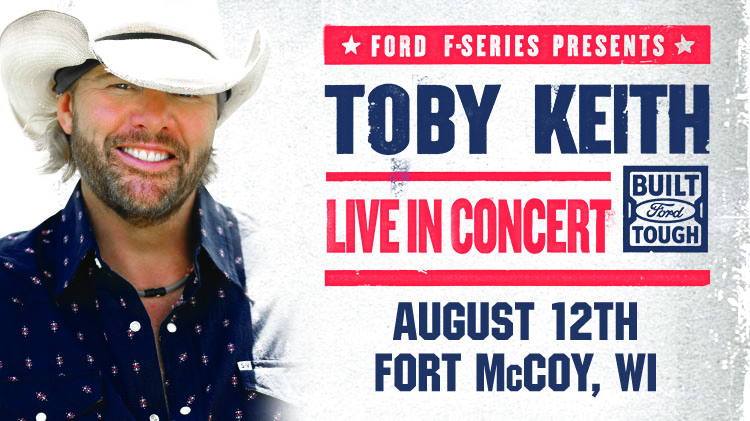 Toby Keith Live at Fort McCoy