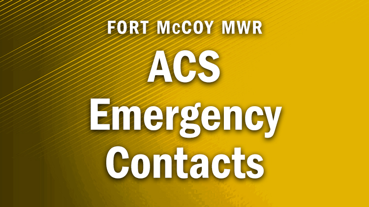 ACS Emergency Contacts