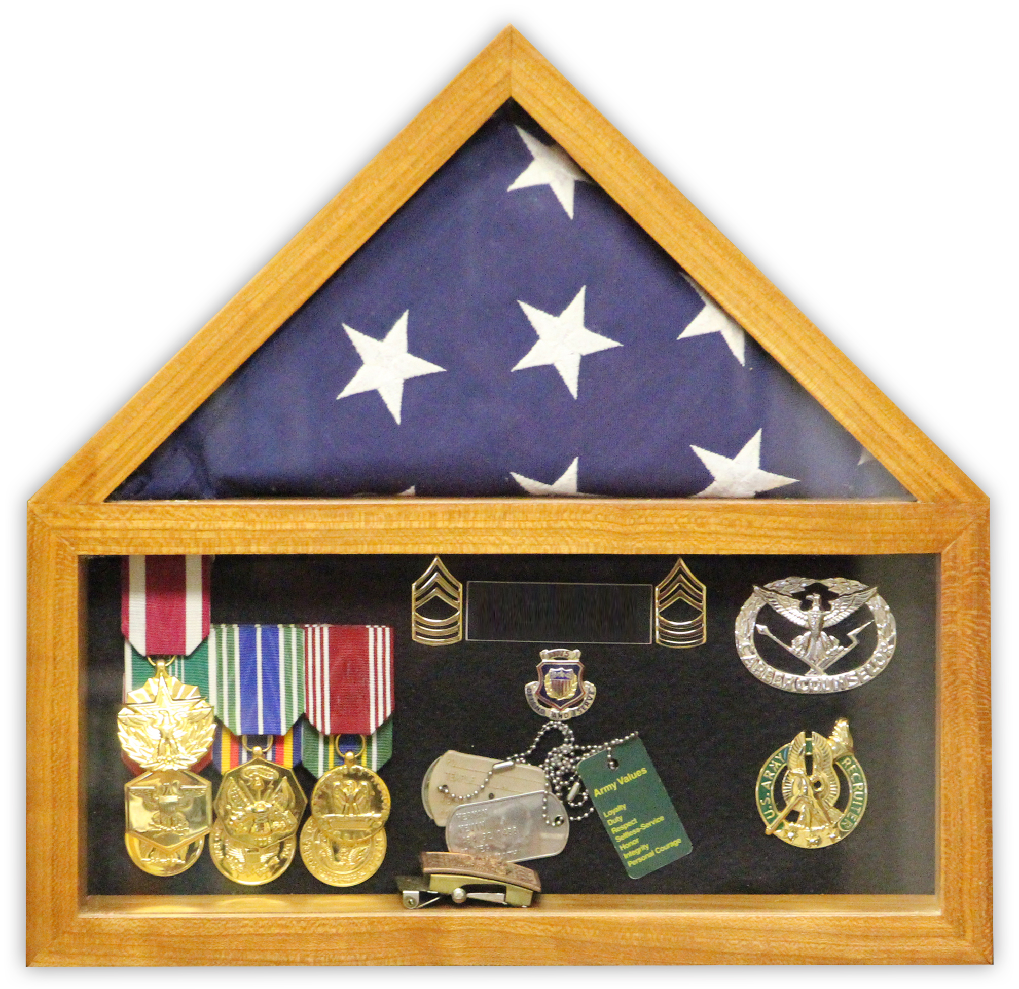 Build a Flag Shadow Box