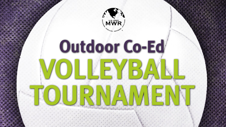 Outdoor Co-Ed Volleyball Tournament