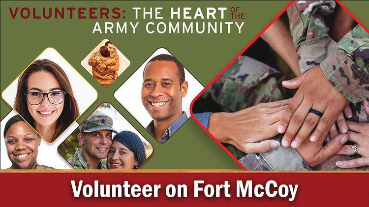 Volunteer on Fort McCoy