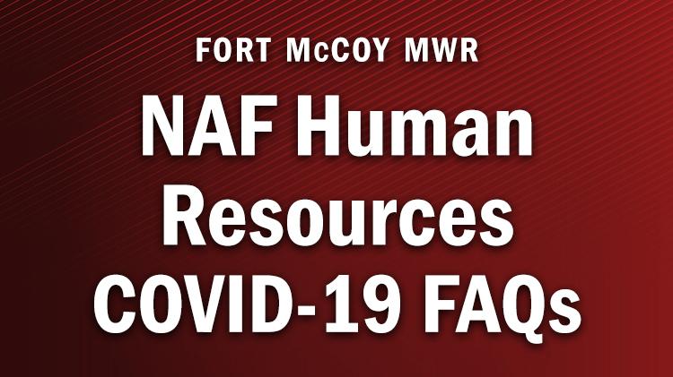NAF Human Resources COVID-19 FAQs