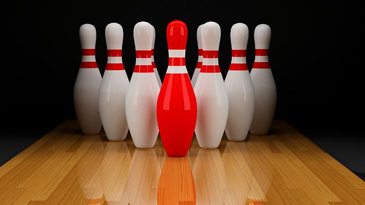Red Pin Bowling